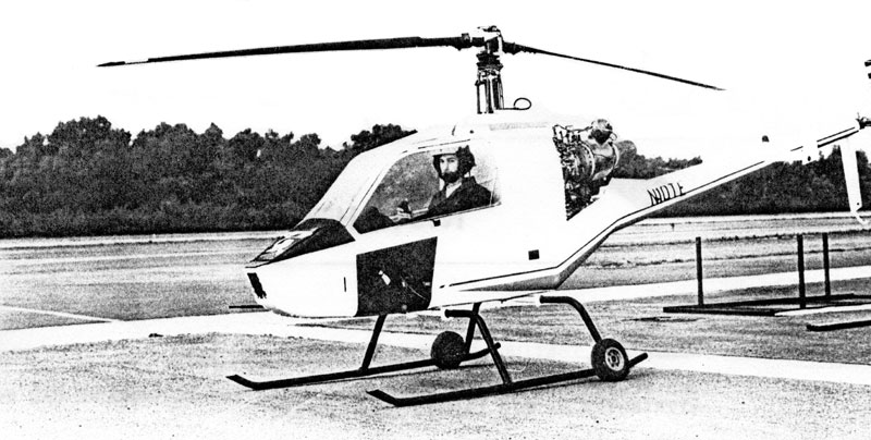 Don-Hillberg Rotormouse Helicopter Plans