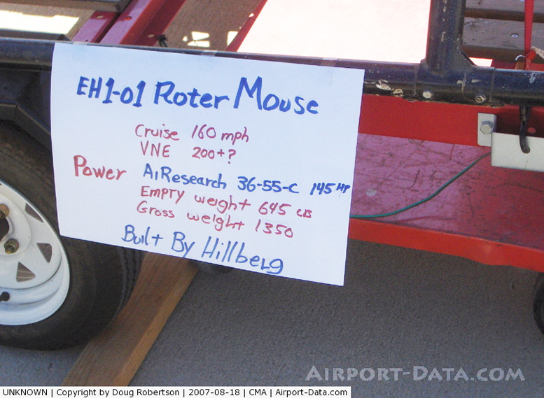 EH1-01 Hillberg RotorMouse Helicopter