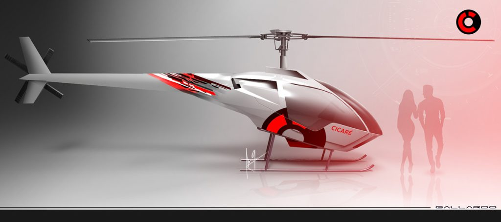 Future Cicare concept helicopter
