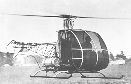 Helicopter Cicare CH-2 design