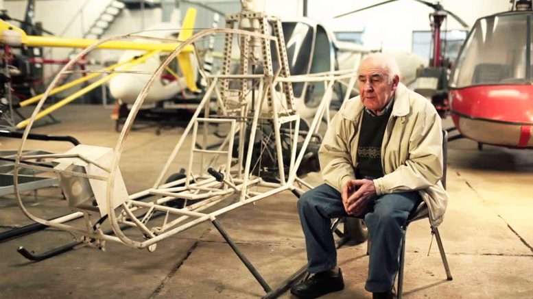 Homebuilt helicopter genius Augusto Cicare