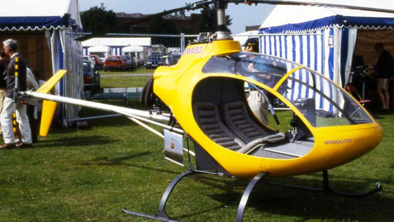 Masquito M80 experimental helicopter