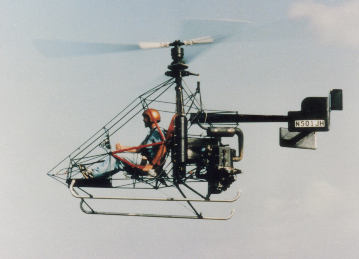Nolan 51HJ Coaxial Pendulum Multi-engine Helicopter