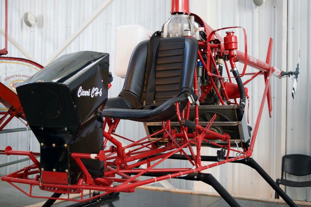 Original Cicare CH6 helicopter