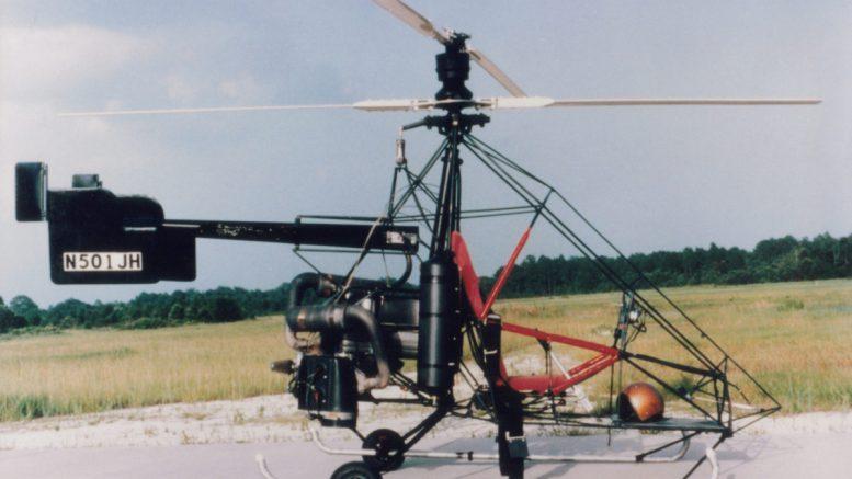Original N501 JH Nolan Coaxial Helicopter