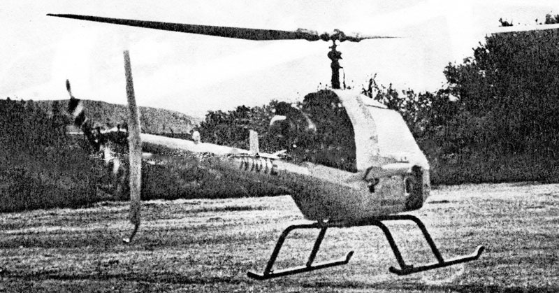 Plans built rotormouse helicopter