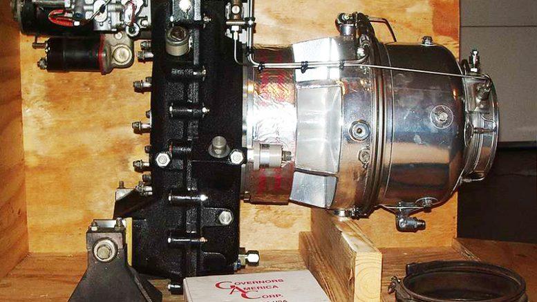 Predator kit helicopter T62T-2A1 APU turbine