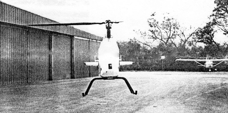 Rotormouse ghost helicopter
