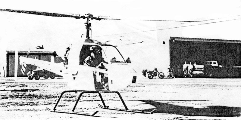 Rotormouse helicopter tarmac