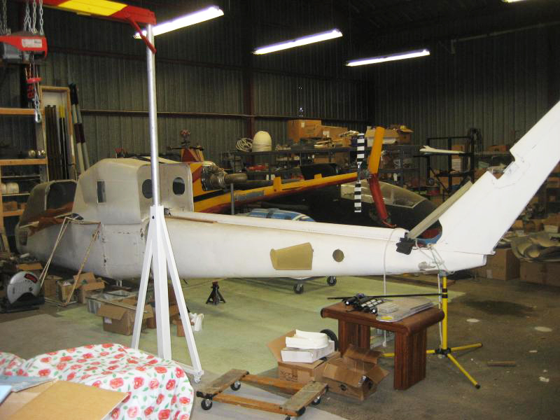 Rotormouse helicopter workshop
