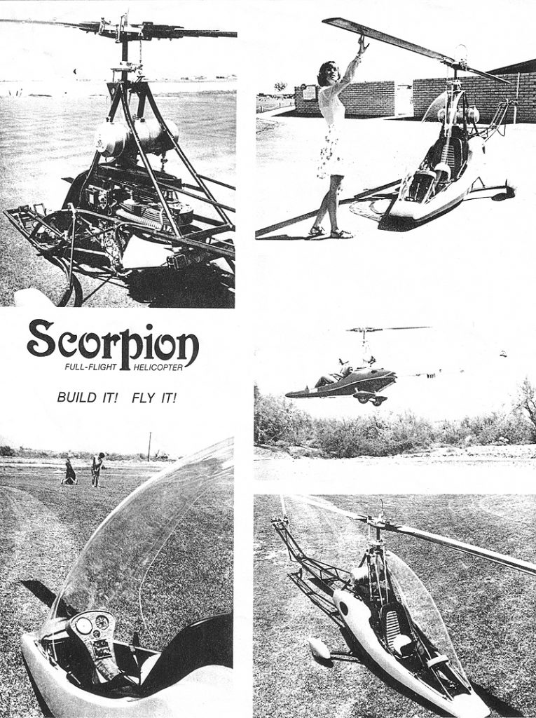 Scorpion one helicopter