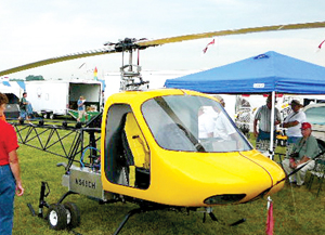 Scout helicopter prototype