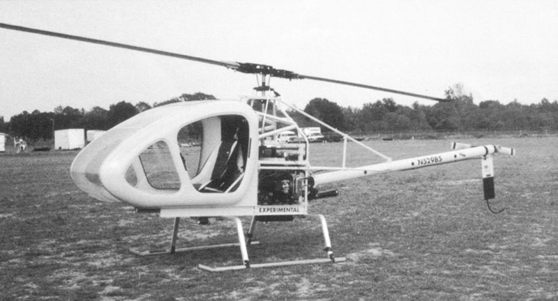 Scout single seat experimental helicopter