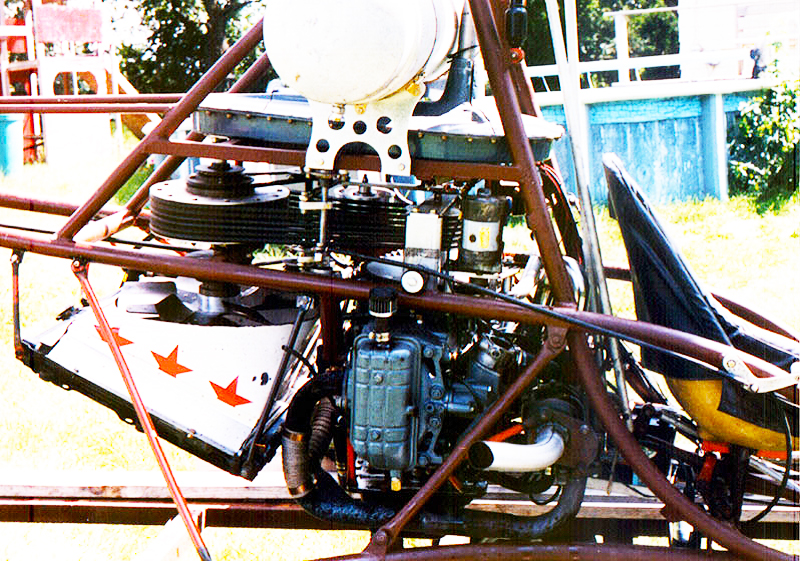 Subaru EA81 helicopter turbo engine Scorpion 1 helicopter
