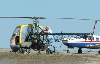 Testing-Pawnee Aviation kit helicopter