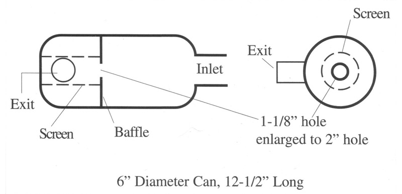 Ultrasport helicopter modified muffler diagram
