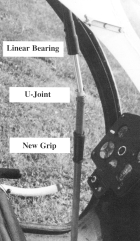 Ultrasport kit helicopter cyclic stick modification
