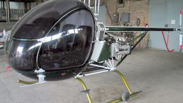 AK-1 Aerokopter helicopter assembly