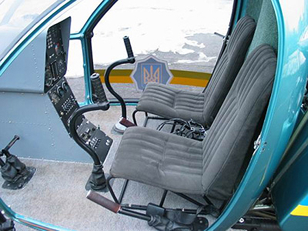 Aerokopter helicopter cabin