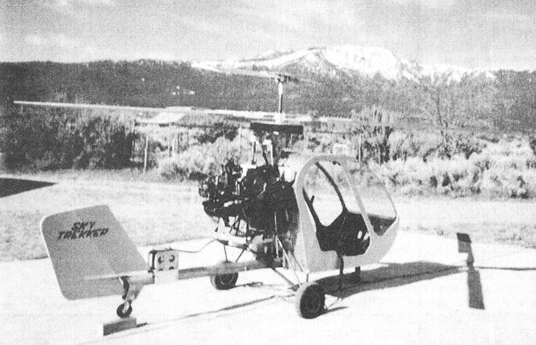 Aldo Sella Skye Trekker coaxial helicopter