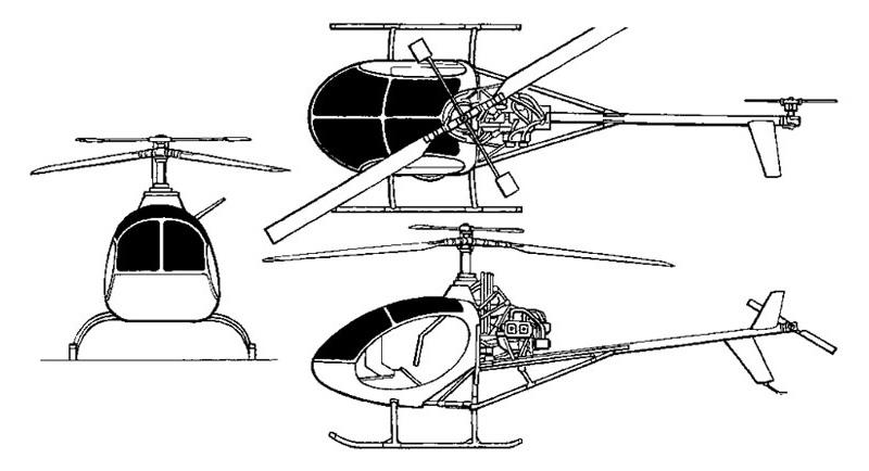 Belgium M80 Masquito helicopter
