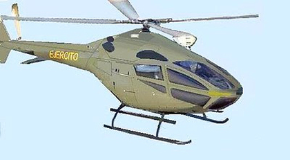 Augusto Cicare CH-16 Helicopter