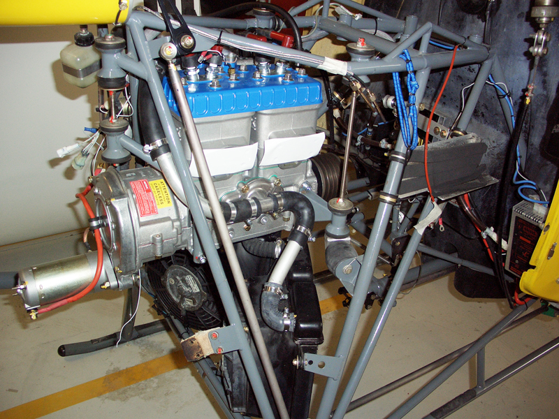 CH7 Angel helicopter Rotax 582 engine