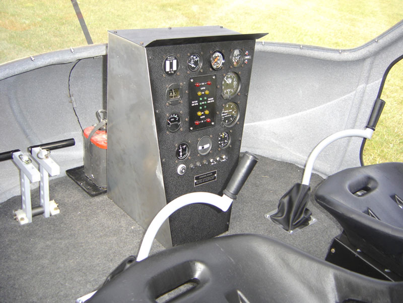 Chief Helicopters instrument panel