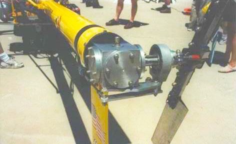 Chief Helicopter tail rotor gearbox