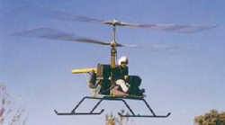 Cicare CH11s helicopter coaxial rotor system