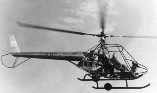 Cicare CH3 helicopter