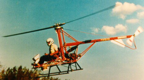 Cicare CH4 helicopter