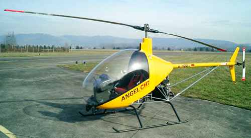 Cicare CH7 helicopter
