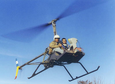 Cicare CH8 helicopter