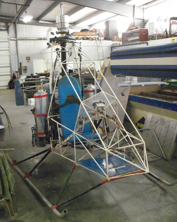 Coaxial helicopter airframe