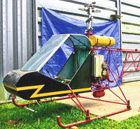 Helicom Commuter Single Seater Kit Helicopter