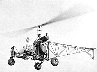 Harold Emigh Prototype Kit Helicopter Image