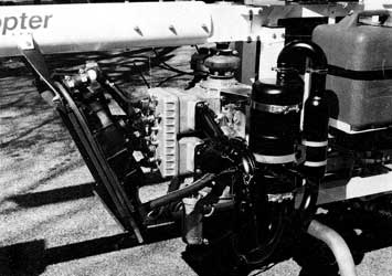 Helicopter Rotax 582 Engine