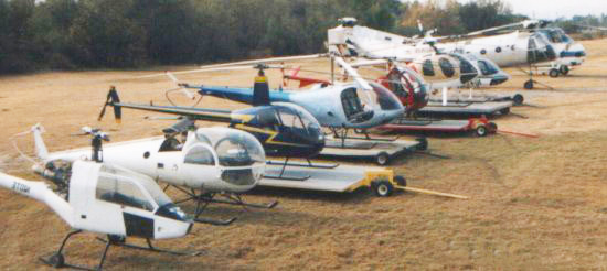 Hillberg helicopters collection