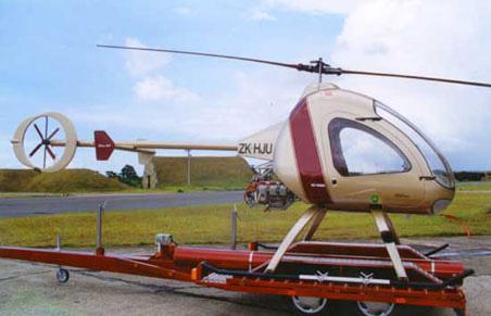 Jabiru powered Ultrasport helicopter