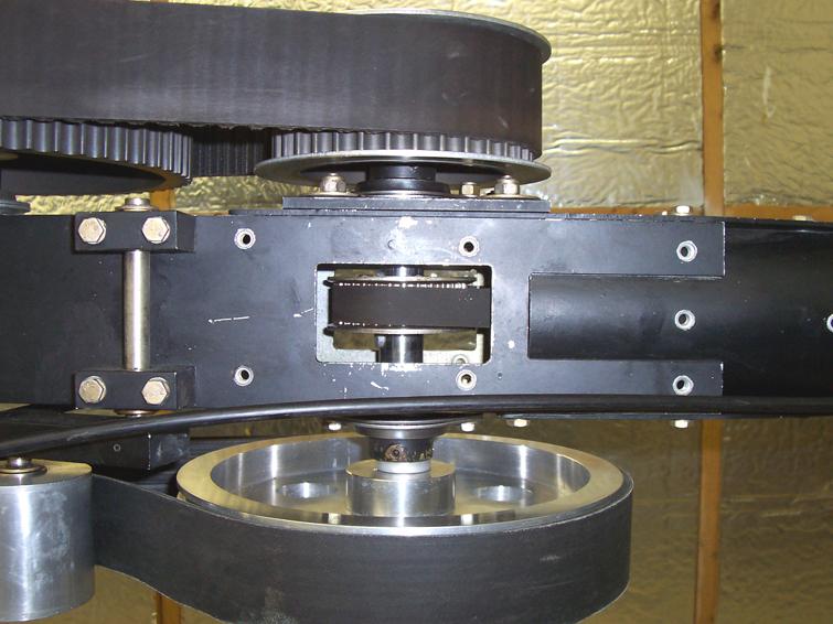 LoneStar helicopter belt drive transmission