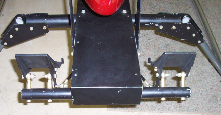 LoneStar helicopter anti-torque pedals