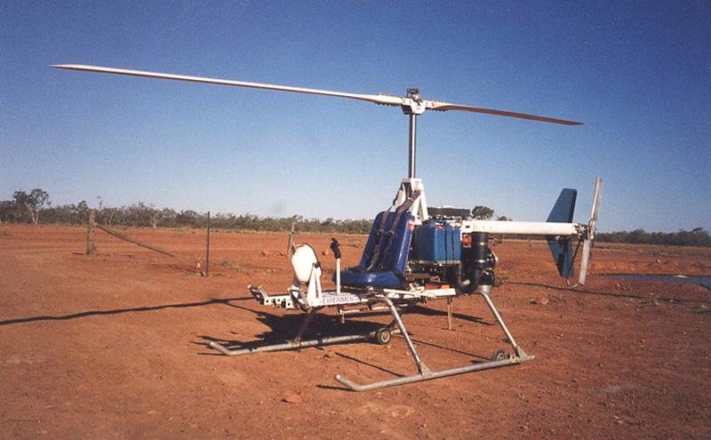 LoneStar homebuilt helicopter kit