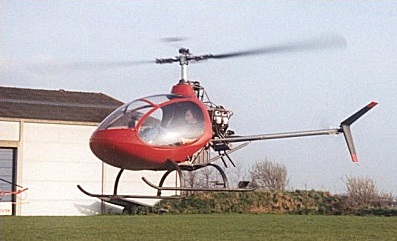 Masquito helicopter prototype