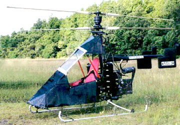 Nolan 51 HJ Coaxial Multi-engine Helicopter