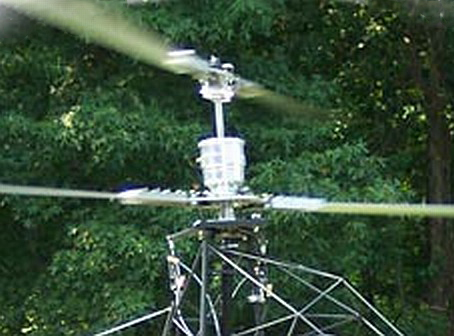 Contra-rotating coaxial helicopter rotorblades