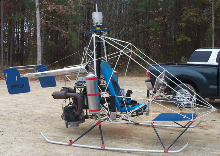 SkyBlazer version of the Nolan's pendulum coaxial helicopter