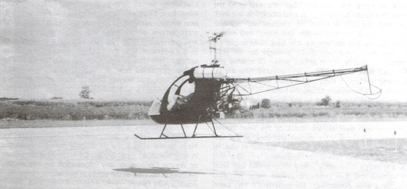 Predator Helicopter taxiing for flight