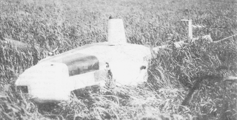 EH 1-01 Rotormouse helicopter crash