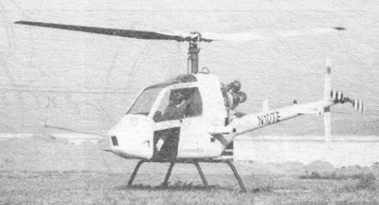 RotorMouse helicopter flown by Don Hillberg